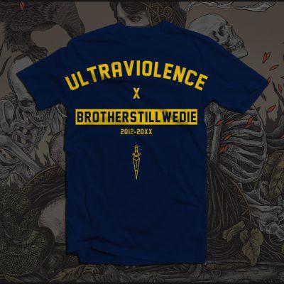"Navy ""Ultraviolence"" T-Shirt"