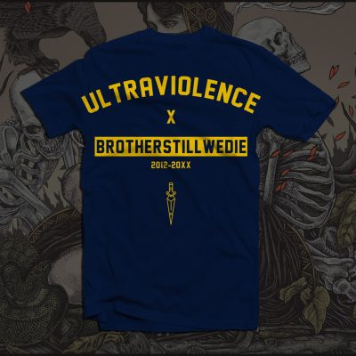"Navy ""Ultraviolence"" T-Shirt"