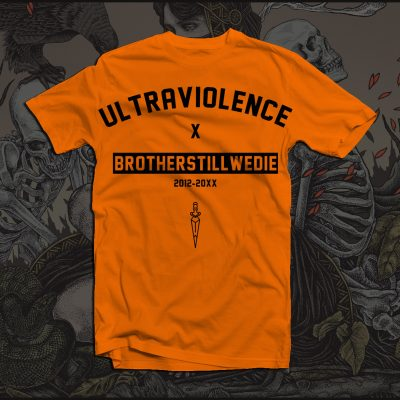 "Orange ""Ultraviolence"" T-Shirt"