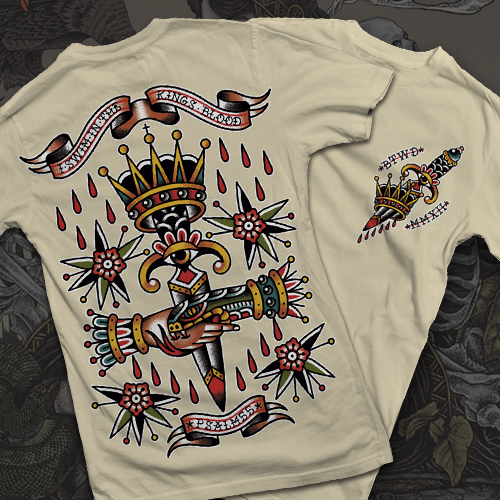 """Bone """"King's Blood"""" T-Shirt"""