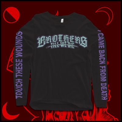 """Touch These Wounds"" Logo Longsleeve T-Shirt"