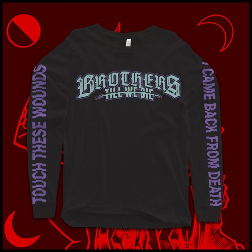 """""""Touch These Wounds"""" Logo Longsleeve T-Shirt"""