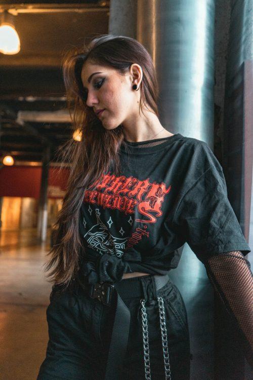 PACK 2: Gorgon T-Shirt + Paura Split Vinyl