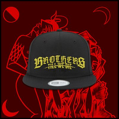 Black Gold Logo Snapback