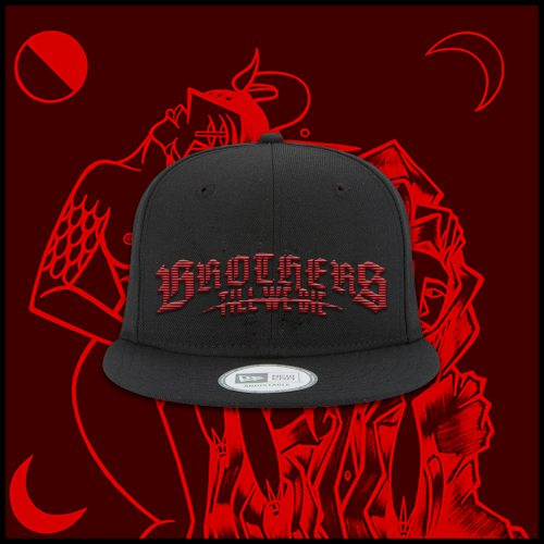 Black Blood Logo Snapback
