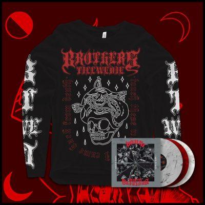 PACK 4: Gorgon Longsleeve + Paura Split Vinyl
