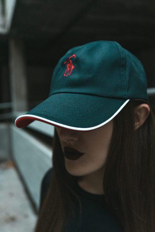 """Navy """"Polo Death Lauren"""" Caps"""