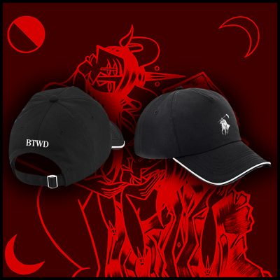 "Black ""Polo Death Lauren"" Caps"
